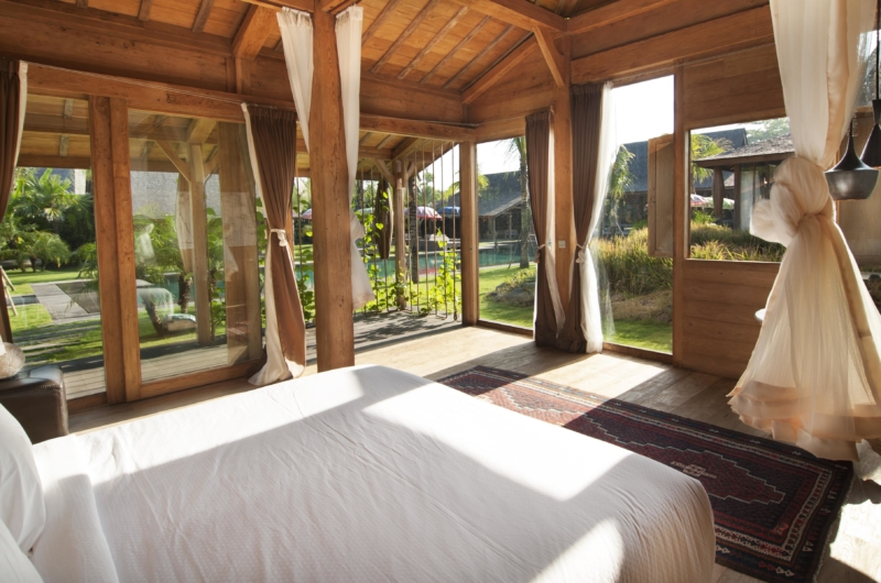Bedroom with Garden View - Villa Kayu - Umalas, Bali