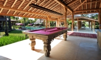 Billiard Table - Villa Kayu - Umalas, Bali