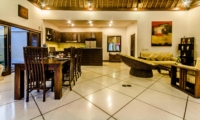 Kitchen and Dining Area - Villa Kebun - Seminyak, Bali