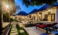 Night View - Villa Kebun - Seminyak, Bali