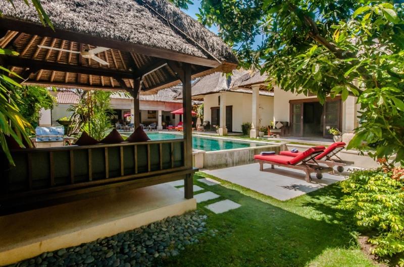Reclining Sun Loungers - Villa Kebun - Seminyak, Bali