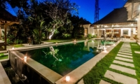 Swimming Pool at Night - Villa Kebun - Seminyak, Bali