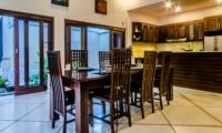 Dining Area - Villa Kebun - Seminyak, Bali