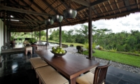 Dining Area - Villa Kelusa - Ubud, Bali
