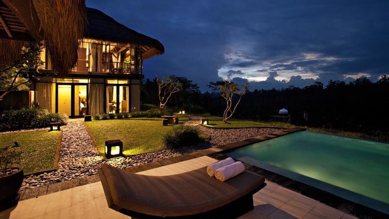 Sun Beds - Villa Kelusa - Ubud, Bali