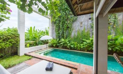 Pool Side Loungers - Villa Ketut - Seminyak, Bali
