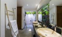 His and Hers Bathroom - Villa Ketut - Seminyak, Bali