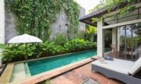 Reclining Sun Loungers - Villa Ketut - Seminyak, Bali