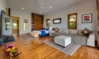 Bedroom with Sofa and TV - Villa Kinara - Seminyak, Bali