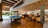 Billiard Table with Pool View - Villa Kinara - Seminyak, Bali