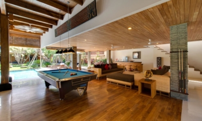 Billiard Table with Pool View - Villa Kinara - Seminyak, Bali
