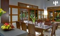 Dining Area - Villa Kinaree Estate - Seminyak, Bali