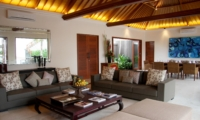 Living and Dining Area - Villa Kipi - Batubelig, Bali
