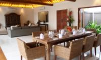 Dining Area - Villa Kipi - Batubelig, Bali