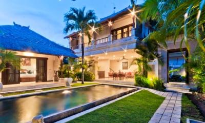 Gardens and Pool - Villa Krisna - Seminyak, Bali