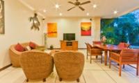 Living and Dining Area - Villa Krisna - Seminyak, Bali
