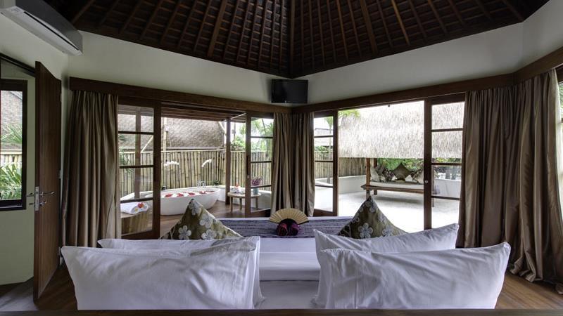 Bedroom with View - Villa Kubu - Seminyak, Bali