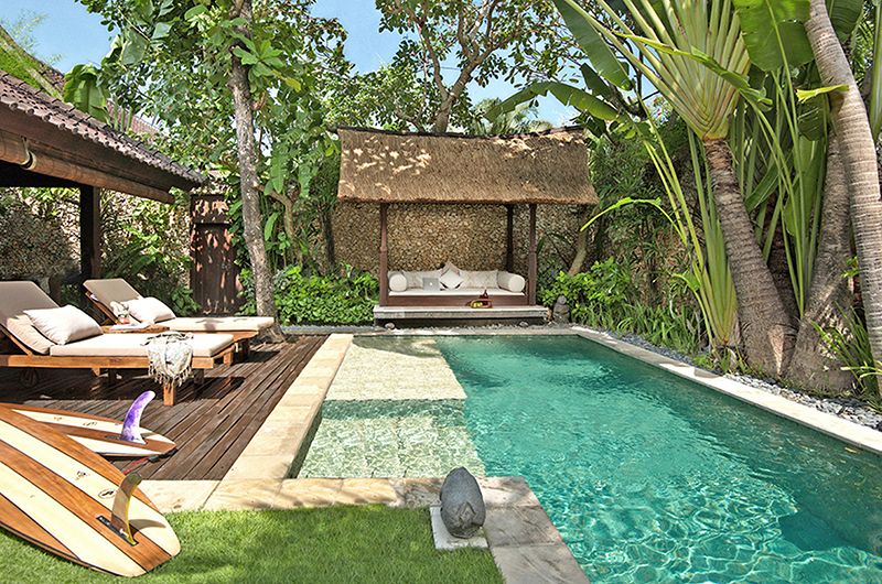 Swimming Pool - Villa Kubu 10 - Seminyak, Bali