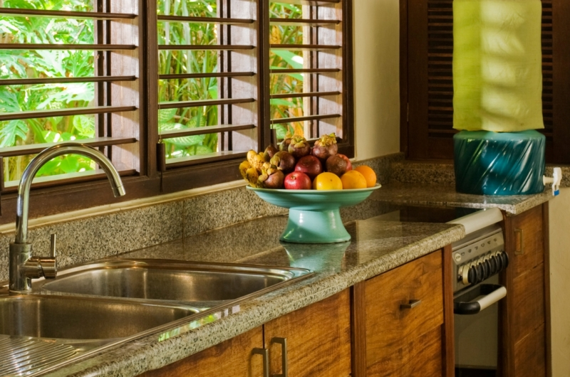 Kitchen with Fruits - Villa Kubu 10 - Seminyak, Bali