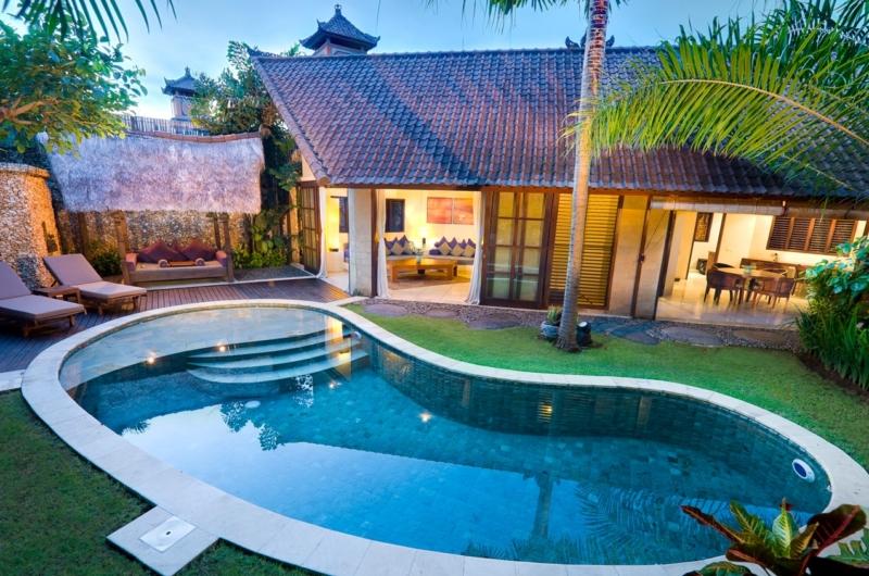 Gardens and Pool - Villa Kubu 11 - Seminyak, Bali