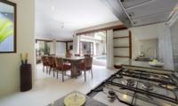 Kitchen and Dining Area - Villa Kubu - Seminyak, Bali