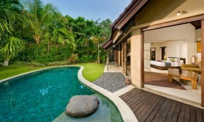 Pool Side - Villa Kubu 12 - Seminyak, Bali