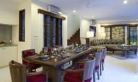 Living and Dining Area - Villa Kubu - Seminyak, Bali