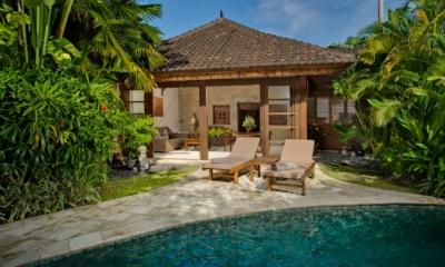 Pool Side Loungers - Villa Kubu 14 - Seminyak, Bali