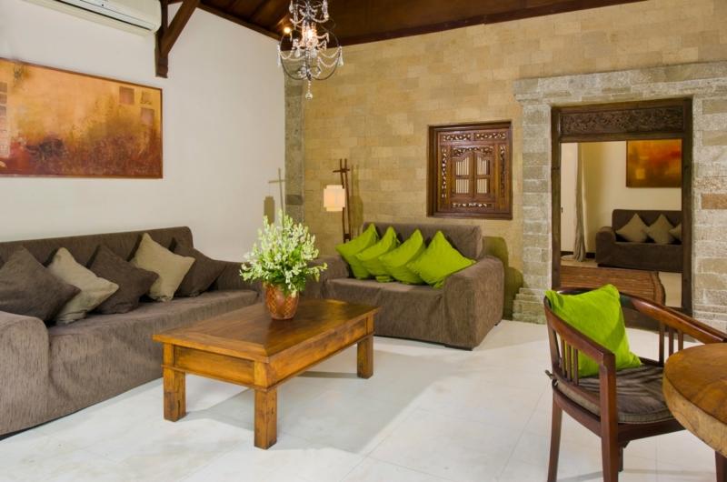 Living Area - Villa Kubu 14 - Seminyak, Bali