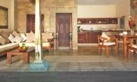 Living, Kitchen and Dining Area - Villa Kubu 15 - Seminyak, Bali