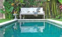 Pool Side Seating Area - Villa Kubu 5 - Seminyak, Bali