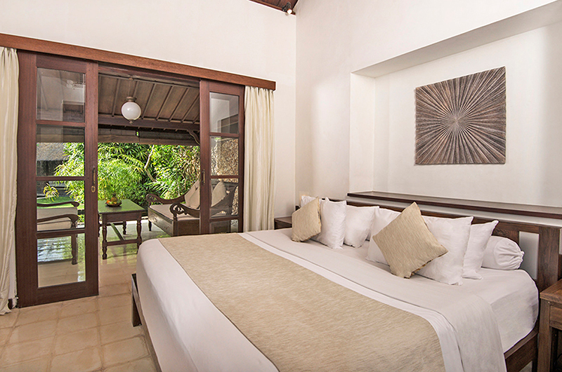 Bedroom with Outdoor View – Villa Kubu 8 – Seminyak, Bali