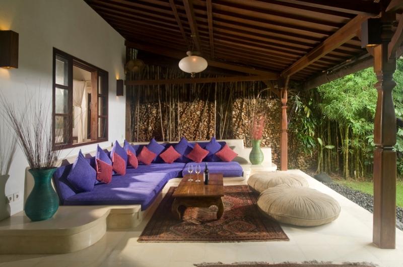 Outdoor Lounge - Villa Kubu 8 - Seminyak, Bali