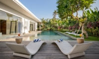 Pool Side Loungers - Villa Kyah - Seminyak, Bali
