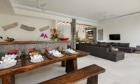 Living and Dining Area - Villa Kyah - Seminyak, Bali