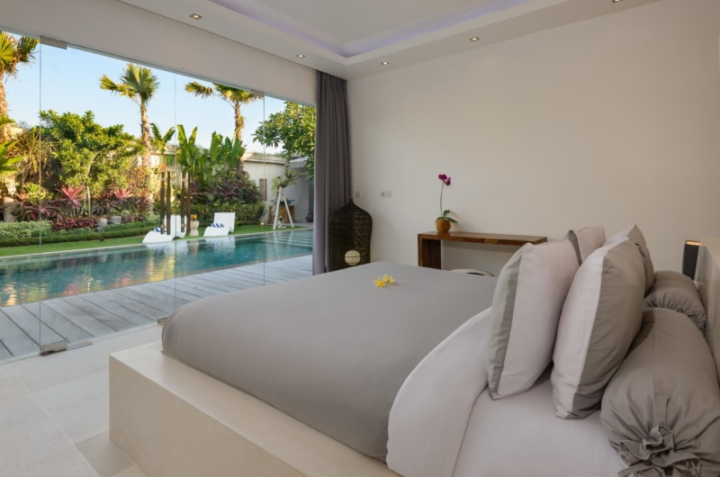 Bedroom with Outdoor View - Villa Kyah - Seminyak, Bali