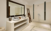 His and Hers Bathroom with Mirror - Villa Kyah - Seminyak, Bali