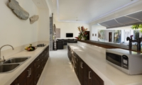 Kitchen Area - Villa Kyah - Seminyak, Bali