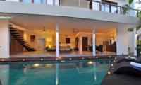 Living Area with Pool View - Villa La Sirena - Seminyak, Bali