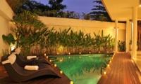 Pool at Night - Villa La Sirena - Seminyak, Bali