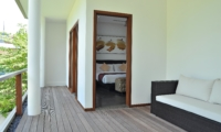 Bedroom and Balcony View - Villa La Sirena - Seminyak, Bali