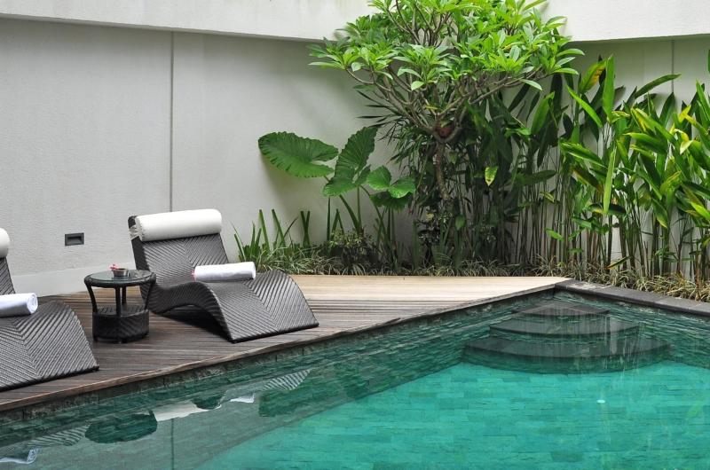 Reclining Sun Loungers - Villa La Sirena - Seminyak, Bali