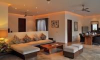 Living and Dining Area - Villa La Sirena - Seminyak, Bali