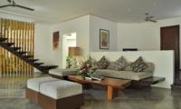 Living Area with Up Stairs - Villa La Sirena - Seminyak, Bali