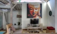 Living Area with TV - Villa Laksmana 1 - Seminyak, Bali