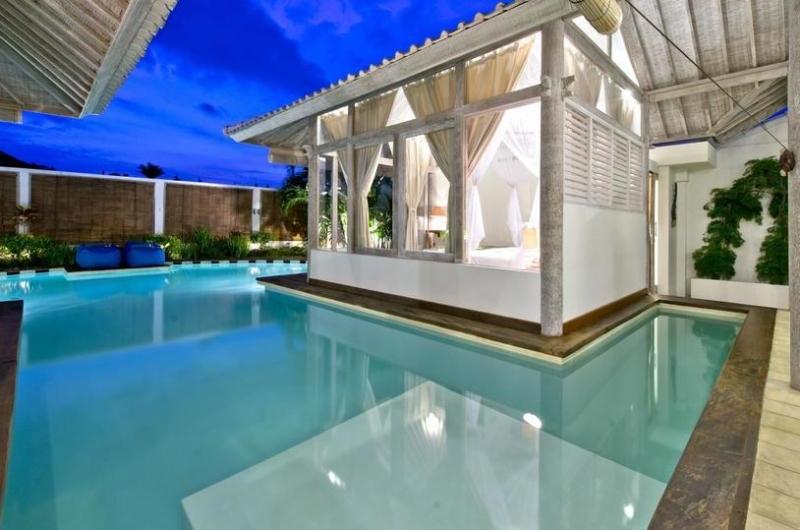 Pool at Night - Villa Laksmana 2 - Seminyak, Bali