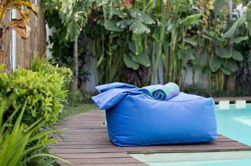 Pool Side Seating Area - Villa Laksmana 2 - Seminyak, Bali