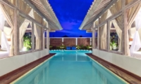 Swimming Pool at Night - Villa Laksmana 2 - Seminyak, Bali