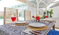 Dining Area - Villa Laksmana 2 - Seminyak, Bali