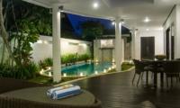 Pool Side - Villa Lanai Residence - Seminyak, Bali